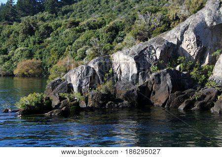 Lake Taupo North Island New Zealand