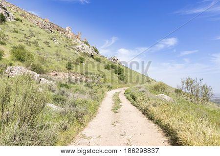Penhas Negras castle in Mora (Toledo), Toledo province, Castilla-La Mancha, Spain