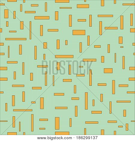 Original, abstract, rectangle, pattern in calm, gentle tones. Vector illustration.