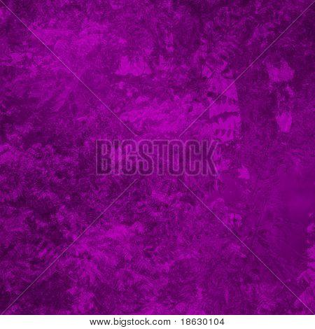 Purple Foliage Background