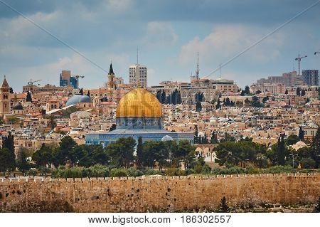 Jerusalem Al Aqsa View