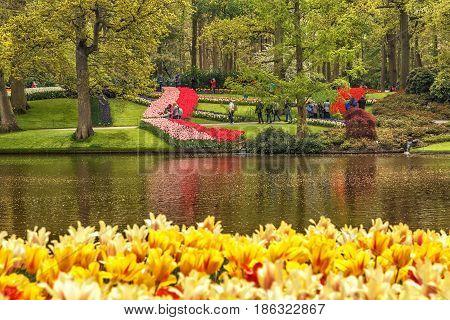 Keukenhof, Lisse, Netherlands, May 2017.