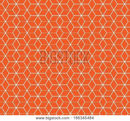 Honeycomb seamless pattern. Fashion graphic background design. Modern stylish abstract texture. Design colorful template for prints textiles wrapping wallpaper website etc. Vector illustration