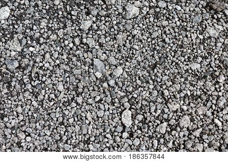 Texture Of Gray Gravel