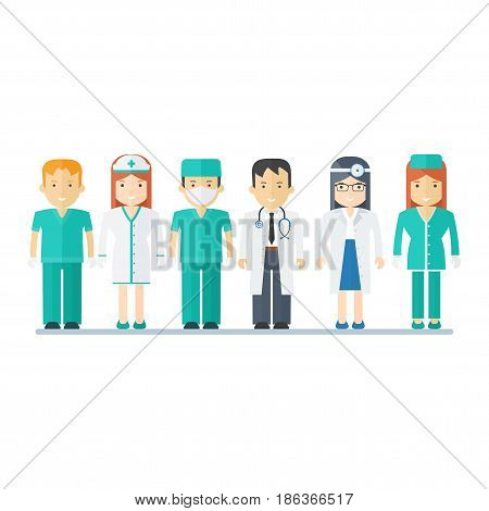 People Medical Staff
