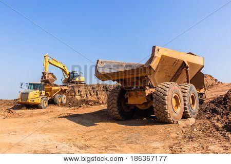 Construction Earthworks Grader Truck
