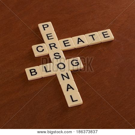 Crossword Puzzle With Words Create Personal Blog.