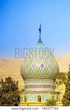Ali Ibn Hamzeh Holly Shrine in Shiraz Iran