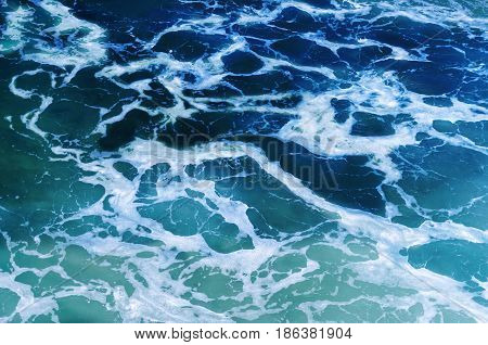Rippled ocean water Abstract Ocean and sea Water Texture