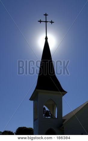 Church-spire-belfry