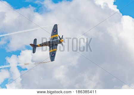 Hawker Sea Fury T.mk.20 On Display