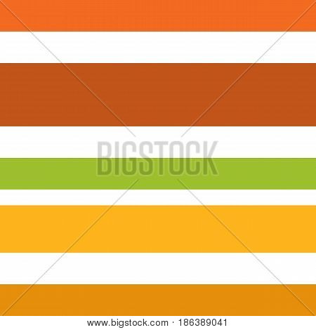 Seamless Pattern Made Of Colorful Horizontal Lines