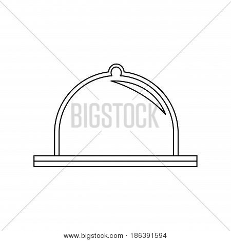 dome crystal protection, equipment factory industrial vector illustration