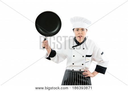 The Chef Of The Hotel Restaurant Is Angry
