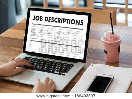 Job Descriptions Human Resources, Employment, Team Management