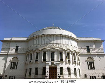 Municipal House of Teachers in Kyiv, Ukraine
