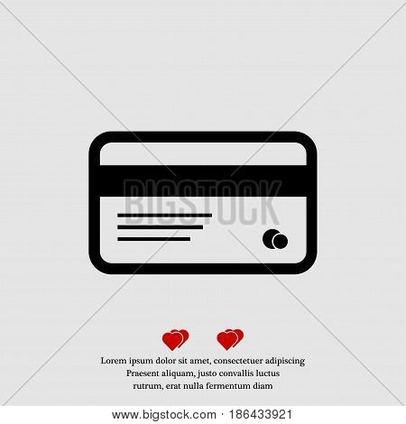 card icon vector best flat icon EPS