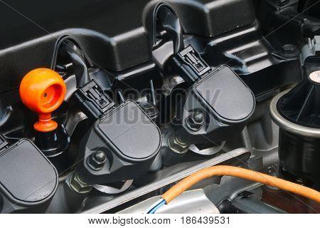 Engine machine car ,Automotive industrial part .