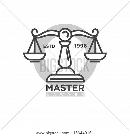Master Lawyer Established 1996 Vector Photo Bigstock