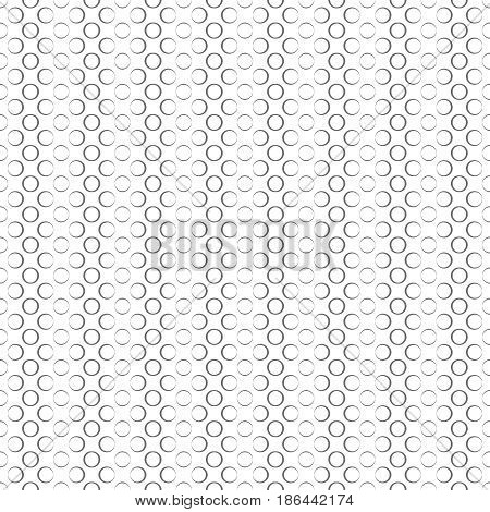 Seamless pattern. Modern stylish texture. Infinitely repeating geometrical texture. Grid with outline circles. Vector element of graphical design