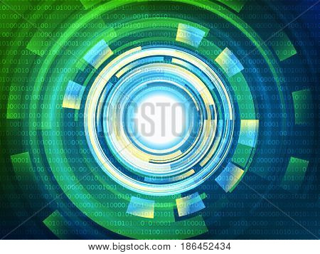 Abstract technology concept background, Vector illustration EPS10