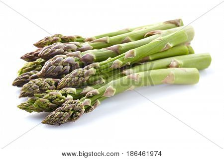 Asparagus in closeup