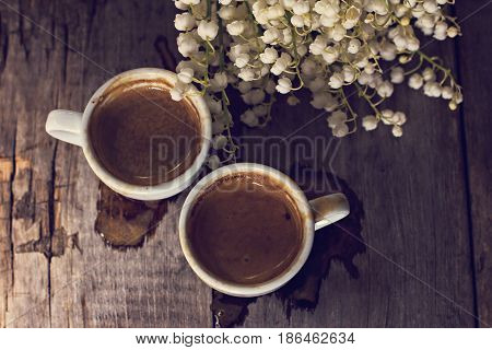 Espresso And Lily Of The Valley