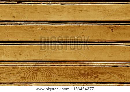 Orange Color Wood Wall Pattern.