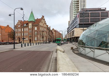 Malmo Town Square at Triangeln Sweden