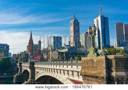 Melbourne Cbd, Central Business District Skyline