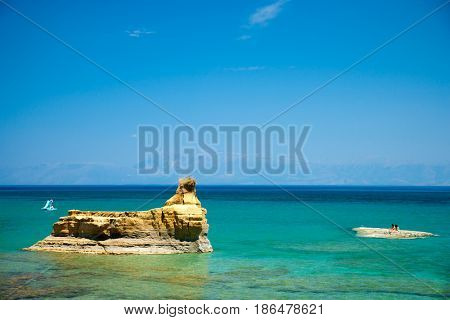 Sidari area  Corfu Island Greece
