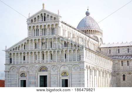Cathedral of Pisa in Tuscany Italy Europe