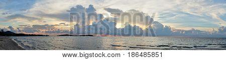 Beautiful Sunset On Koh Samui