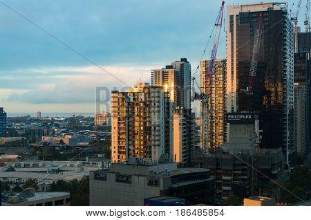Melbourne Urban Development