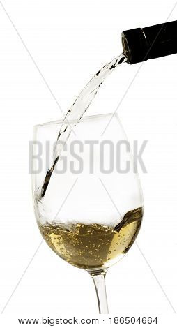 Wine pouring white wine wine bottle drink alcohol liquor