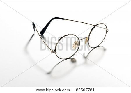 Pair Of Classic Round Vintage Eyeglasses