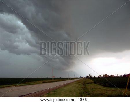 Frente de la tormenta