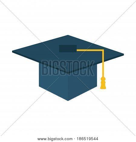 graduation cap icon image vector illustration design