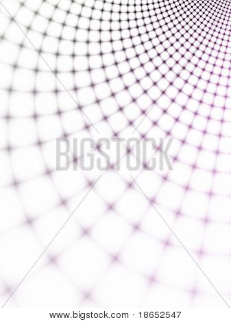 Fractal image depicting an abstract spider web representing the World Wide Web.