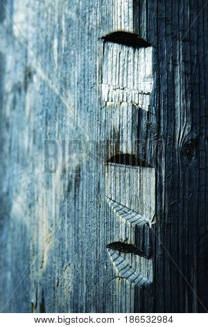 abstract background or texture Woodcuts in wood retro