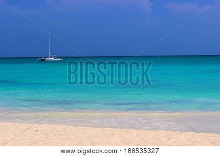 Isla Saona, a caribbean beach in Dominican Republic