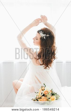 Boudoir Bride's Morning