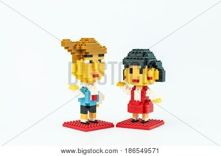 Chibi Maruko Chan Micro Blocks