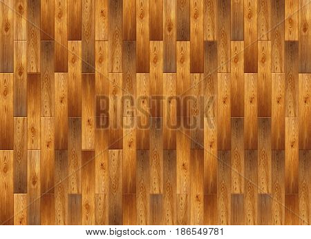 Parquet From Wooden Pattern. Light Wooden Parquet On The Floor. Fragment of parquet floor