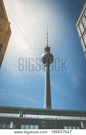 Tv Tower In Berlin - Television Tower / Fernsehturm, Berlin