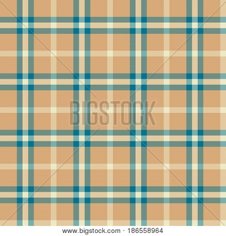 Seamless background of plaid pattern, vector illustration
