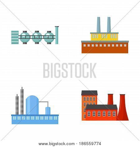 Industry, production.Factory set collection icons in cartoon style vector symbol stock illustration .