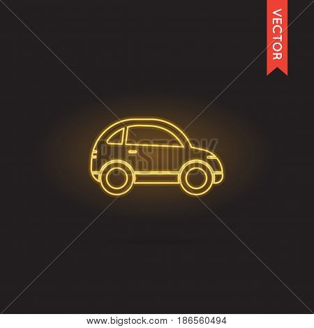 Neon Car Icon, Car Icon Vector, Car Icon Object, Car Icon Image, Car Icon Picture, Car Icon Graphic, Car Icon Art, Car Icon Drawing, Car Icon EPS.