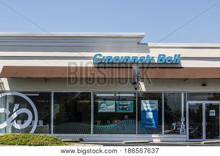 Cincinnati - Circa May 2017: Cincinnati Bell Retail Consumer location. Cincinnati Bell offers landline, electric, and TV plans II