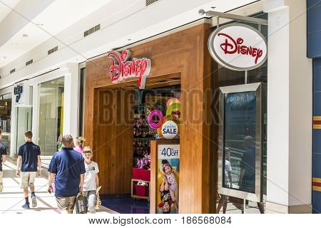Cincinnati - Circa May 2017: Disney Store Retail Mall Location. Disney Store is the Official Site for Disney Shopping VII